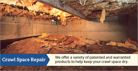 We are the South and North Carolina Crawl Space Repair Experts!